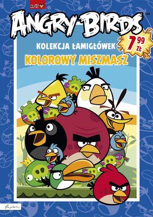 Angry Birds. Kolekcja łamigłówek. Kolorowy miszmasz 45
